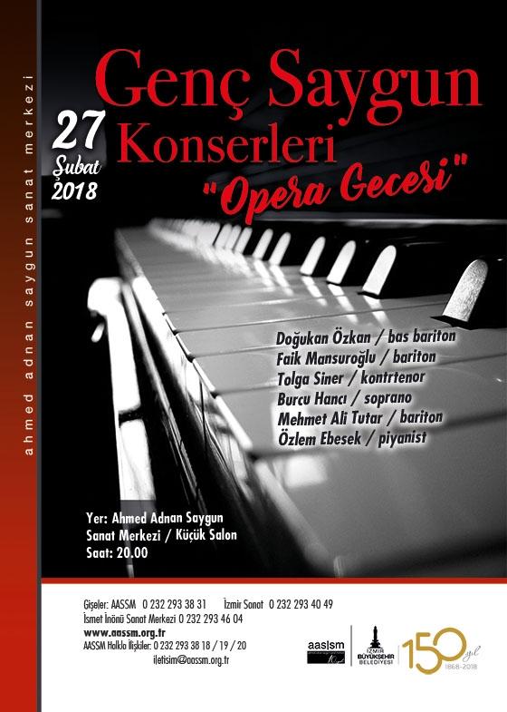 Genç Saygun Konserleri Opera Gecesi