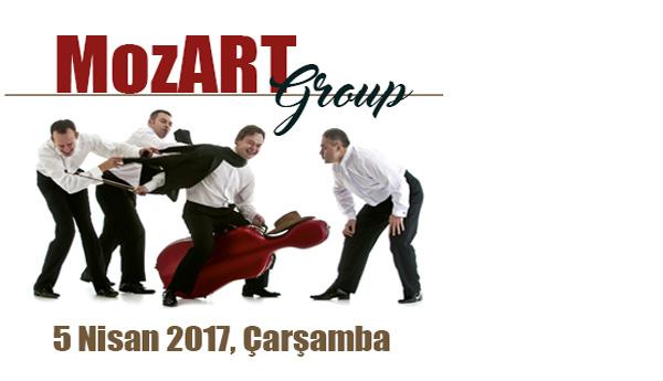 <div class='baslik'><a href= '/Etkinlikler/mozart-group' target='_self'>MOZART GROUP</a></div></br>Varşova ve Lodz&#39;un en prestijli m&#252;zik akademilerinden mezun d&#246;rt arkadaşın klasik m&#252;ziği esprili bir şekilde yorumladığı, eğlence ve kahkaha dolu bir konser bizleri bekliyor.<br><br>Konserin biletleri 22 Mart 2017 &#199;arşamba g&#252;n&#252; saat 10.00&#39;da www.aassm.org.tr adresi ve gişelerimizden satışa &#231;ıkacaktır.