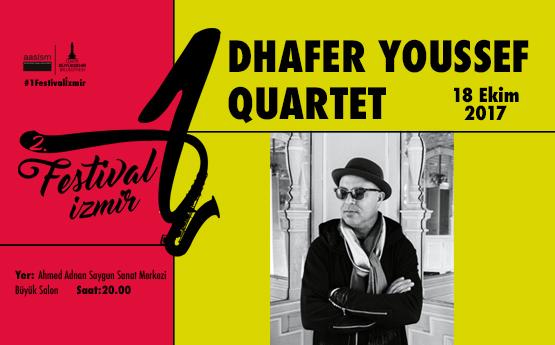 <div class='baslik'><a href= '/Etkinlikler/1-festival-izmirdhafer-youssef-quartet' target='_self'>1 FESTİVAL İZMİR / DHAFER YOUSSEF QUARTET</a></div></br><br>1 Festival İzmir kapsamında ger&#231;ekleştirilecek olan 2. konserde, Dhafer Youssef Quartet&#39;i izleyeceğiz.<br><br>Konserin bilet satışları 10 Ekim 2017 Salı g&#252;n&#252; saat 10.00&#39;da, www.aassm.org.tr ve gişelerden aynı anda başlayacaktır.