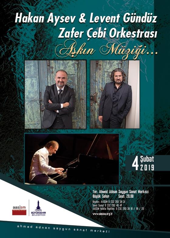 Hakan Aysev & Levent Gündüz & Zafer Çebi Orkestrası Aşkın Müziği