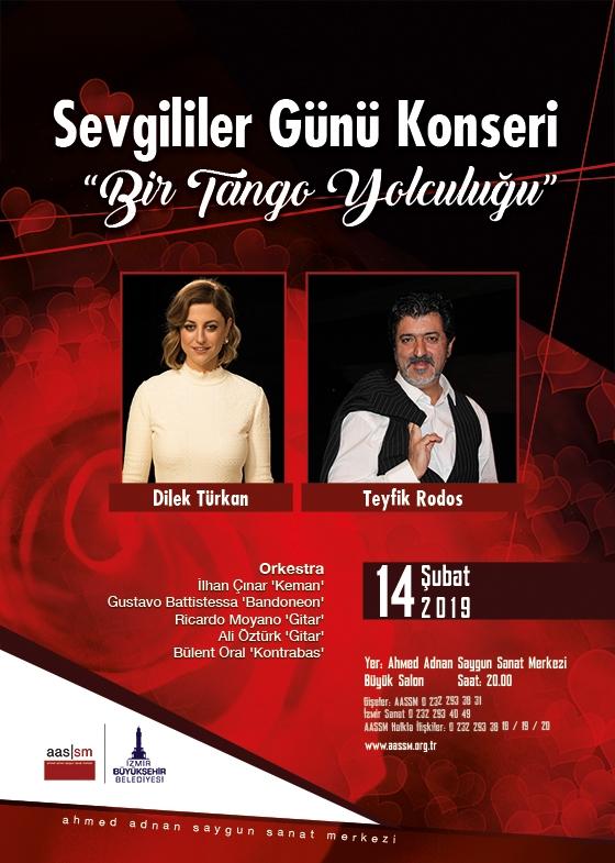 Sevgililer Günü Konseri Bir Tango Yolculuğu