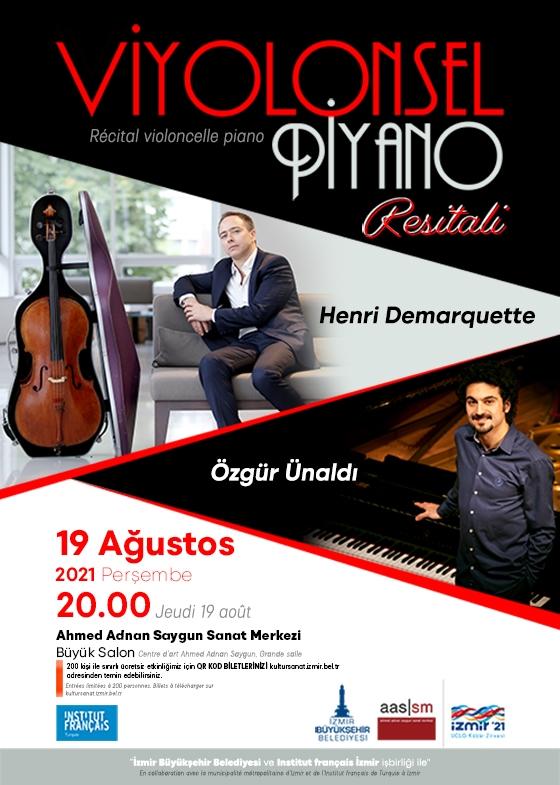 Viyolonsel - Piyano Resitali