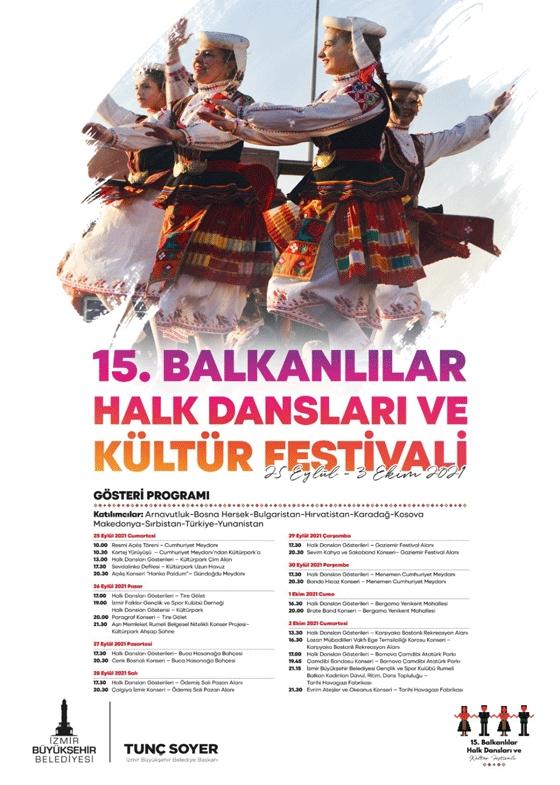 15. Balkanlılar Halk Dansları ve Kültür Festivali Film Gösterimleri