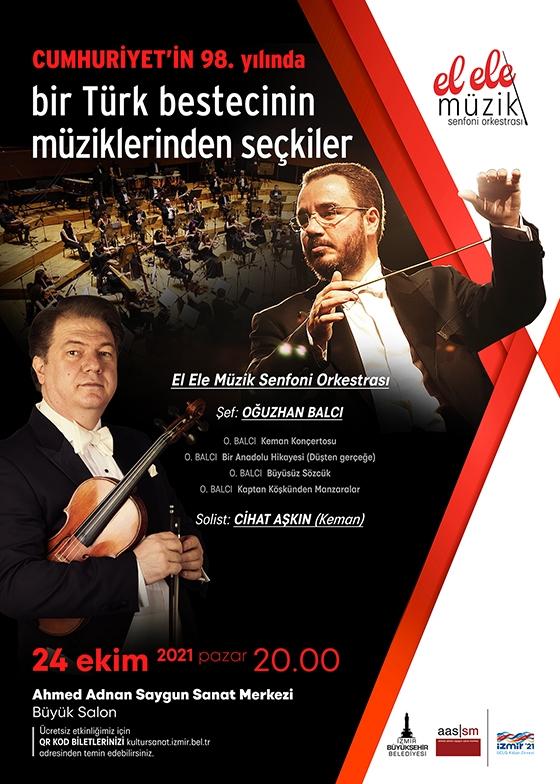Cumhuriyet`in 98. Yılında Bir Türk Besteci`nin Müziklerinden Seçkiler