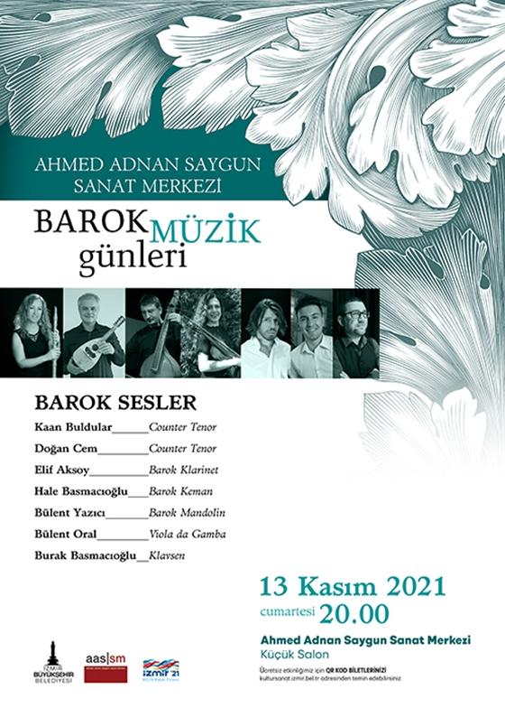 Barok Müzik Günleri  Barok Sesler