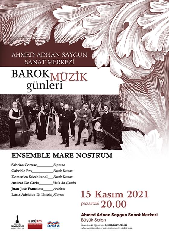 Barok Müzik Günleri Ensemble Mare Nostrum