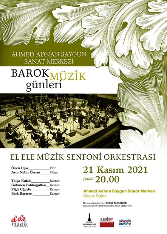 Barok Müzik Günleri  El Ele Müzik Senfoni Orkestrası